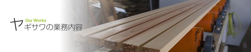 オリジナル加工木材
